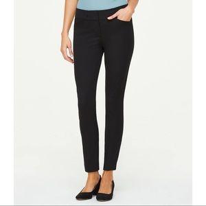 Loft | Black Modern Skinny Ankle Pants | Size 6
